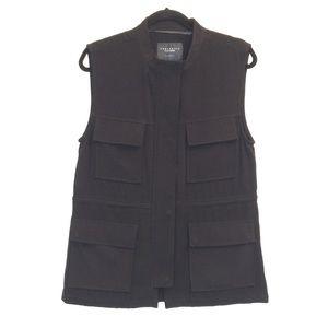 Sanctuary NEW Sz M Black Vest
